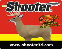 Shooter Buck 3D Targets